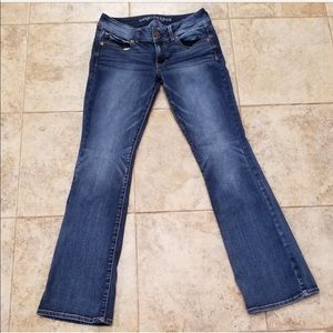 Great Cond. American Eagle Stretchy Boot Cut Jeans